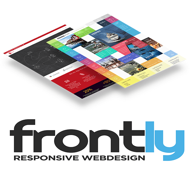 Responsive Webdesign Layout mit dem Frontly CMS